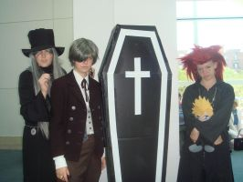 Anime Cosplay Group AX 09' by spinaroundthecat