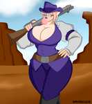 Art Trade - Cowgirl Deja by Superi90