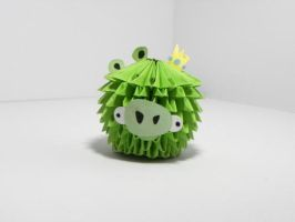 Angry birds pig :D by Nxio