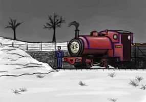 Snow by Train4755