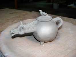 Hilarious Tea Pot by birthmark1
