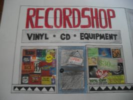 record shop by misaapril288