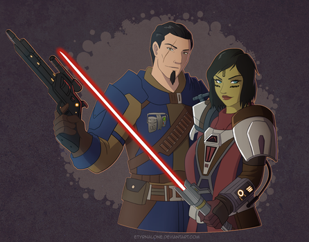 TOR: Adorran and Horthian by EtyrnalOne