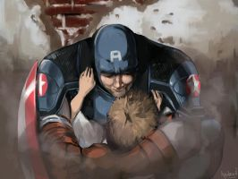 Captain America by ayubee
