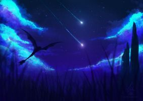 Catching stars by Crowik