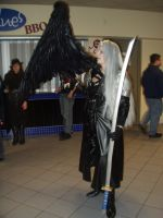 Ohayocon '10: Sephiroth 1 by soulless-lover