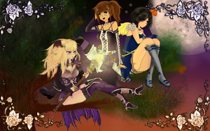 [Eden Eternal] Ze Trio Of The Death by F6ema