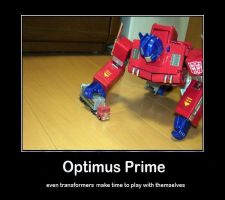 motivational optimus by savage-boy