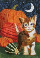 Pumpkin Kitty by Kestrel88