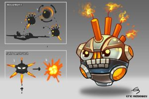 Mighty Bomb enemy by Emortal982
