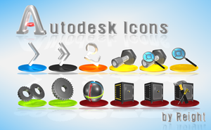 Autodesk Icons by reight