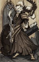 Imperial Psyker and Familiar by dForrest