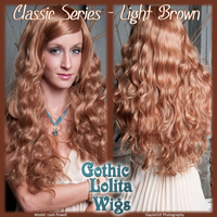 Classic Series - Light Brown by GothicLolitaWigs