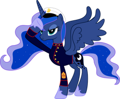 Princess Luna - Mare-ine by RAGErER