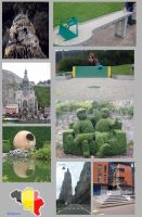 Collage Belgium by Saabii
