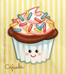 Colorful Cupcake by cifaela