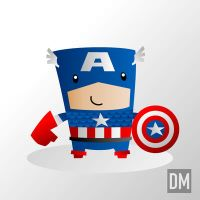 Captain America by DanielMead