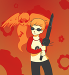 Dave Strider and Davesprite by Delpha