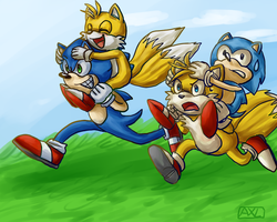 1 Hour Sonic - Race by Axolotlia