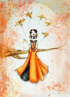 Fly Away Series- Orange by MissJamieBrown