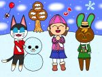 CE: An Animal Crossing Winter by JeanetteSimon116