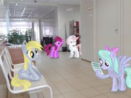 At a reception in the clinic by Atlas-66