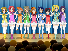 Love Live - START:DASH!! Fanmade Outfits by SRM-Will-Never-Die