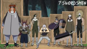 7 Swordsmen by goriverde