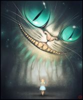 cheshire cat by GaudiBuendia