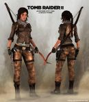 TOMB RAIDER 2: Lara Concept Outfit (alternate) by doppeL-zgz