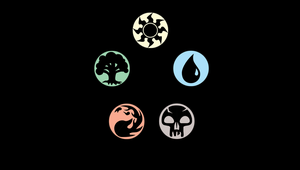 Magic the Gathering Symbols by TheKagestar