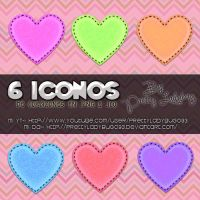 Hearts Icons by PrettyLadybug093