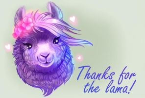 Lama2 by LunarFerns
