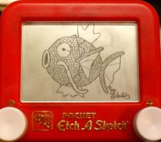 Magikarp etch a sketch by pikajane