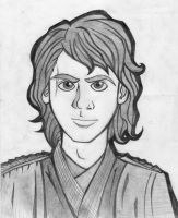 Anakin Skywalker by RaccooninaSuit