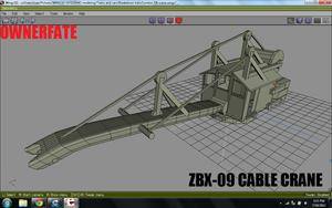 Gate city's CABLE Re railing crane s1 by ownerfate