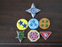 Halo 3 Pins by DigiPad