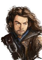 The Hobbit - Speed painting Kili by LucioL-2zR