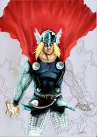 The Allmighty Thor (WIP) by britolitos96