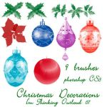 Christmas Decorations by imthinkingoutloud