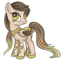 Pony Point Adopt: Tarnished Gold {CLOSED} by Blesses