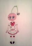 Cherry-Chan - My Alien Fruit OC by InvaderBlitzwing