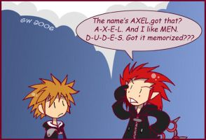 KH2: Well he does. by GreenWiggly