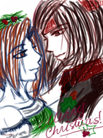 Vincent and Lucretia Christmas Theme by Russell81
