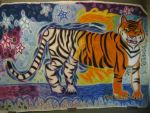 Bengal to Snow Tiger by Winter-Colorful