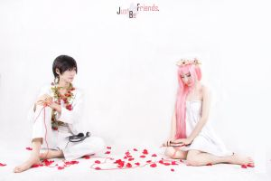 Vocaloid_Just Be Friends by hybridre