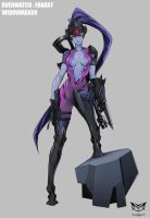 Widowmaker by OHMEGA18