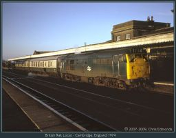 British Rail local by classictrains