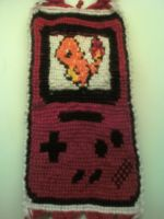 Charmander on GameBoy Bracelet by x13supernova13x