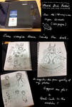 Custom Sketchbook 120 pages Auction Closed by shrimpHEBY